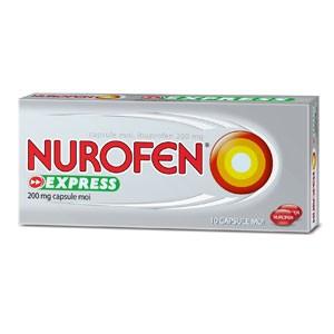 Care este diferența între Nurofen Capsule Moi și Nurofen Express ?
