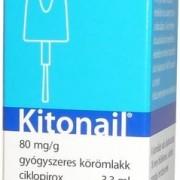 KITONAIL – Lacul de unghii care trateaza micoza unghiei