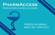 Ce medicamente beneficiaza de reducerea Cardului PharmAccess ?