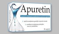 APURETIN – Elimina excesul de apa din organism