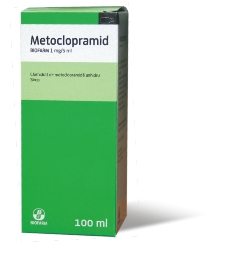 Metoclopramidul CONTRAINDICAT copiilor sub 1 ani si MAXIM 5 zile de tratament