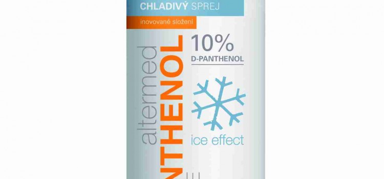 Panthenol Spray – Ideal pentru arsurile solare si nu numai