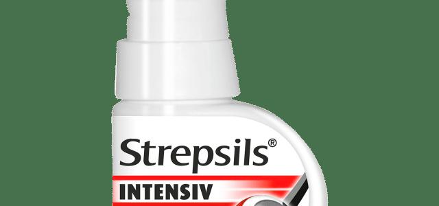 Strepsils Intensiv Spray : Ideal in ameliorarea durerilor de gat