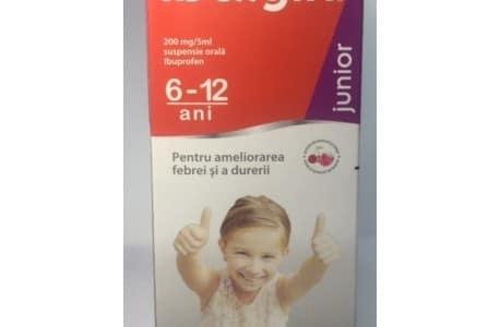 Ibalgin Junior Sirop : Calmeaza febra si durerea juniorilor
