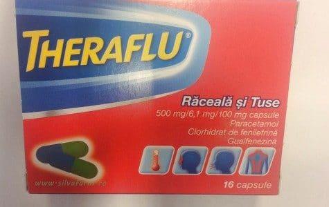 THERAFLU Raceala si Tuse : Trateaza simptomele de raceala, gripa si tuse