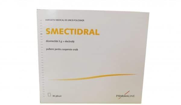 SMECTIDRAL : Antidiareic si electroliti in acelasi plic