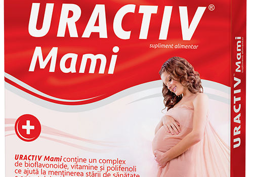 Uractiv Mami :  Ideal in infectii urinare