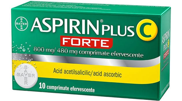 Aspirin Plus C FORTE : Un nou aliat impotriva racelii si gripei