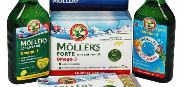 Gama Mollers : Ajuta sistemul nervos si cel cardiovascular!