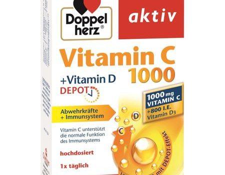 Doppelherz: Vitamina C 1000+Vitamina D