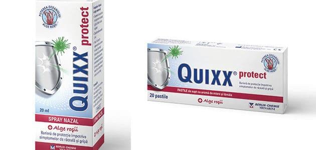 Quixx Protect- Protectie împotriva răcelii și gripei