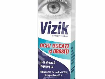 VIZIK : Picaturi pentru ochi iritati si rosii/ ochi uscati si obositi
